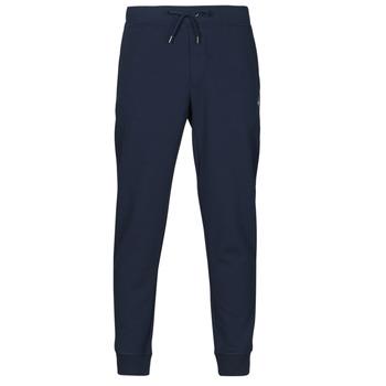 衣服 男士 厚裤子 Polo Ralph Lauren PANTALON DE JOGGING EN DOUBLE KNIT TECH LOGO PONY PLAYER 海蓝色
