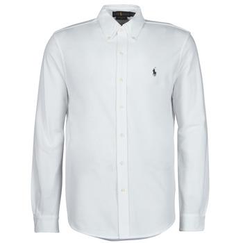 衣服 男士 长袖衬衫 Polo Ralph Lauren COPOLO 白色