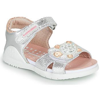 鞋子 女孩 凉鞋 Biomecanics 212172 银灰色