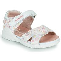鞋子 女孩 凉鞋 Biomecanics 212165 白色 / 彩色