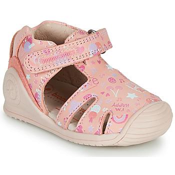 鞋子 女孩 凉鞋 Biomecanics 212107 玫瑰色