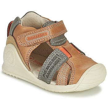 鞋子 男孩 凉鞋 Biomecanics 212135 棕色