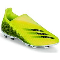 鞋子 儿童 足球 adidas Performance 阿迪达斯运动训练 X GHOSTED.3 LL FG J 黄色 / 黑色