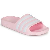 鞋子 女孩 拖鞋 adidas Performance 阿迪达斯运动训练 ADILETTE AQUA K 玫瑰色