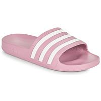 鞋子 女士 拖鞋 adidas Performance 阿迪达斯运动训练 ADILETTE AQUA 玫瑰色