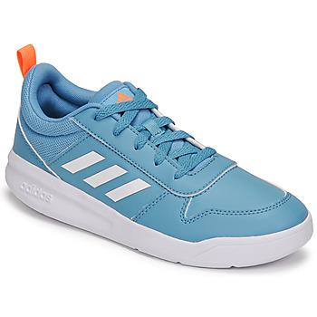 鞋子 儿童 球鞋基本款 adidas Performance 阿迪达斯运动训练 TENSAUR K 蓝色