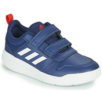 鞋子 儿童 球鞋基本款 adidas Performance 阿迪达斯运动训练 TENSAUR C 蓝色 / Fonce