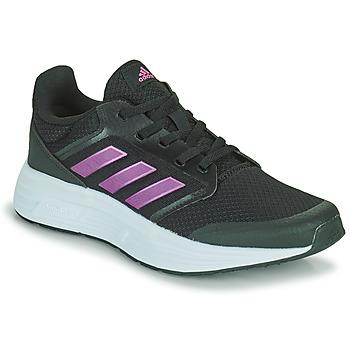 鞋子 女士 跑鞋 adidas Performance 阿迪达斯运动训练 GALAXY 5 黑色 / 玫瑰色