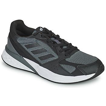 鞋子 女士 跑鞋 adidas Performance 阿迪达斯运动训练 RESPONSE RUN 黑色