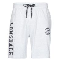 衣服 男士 短裤&百慕大短裤 Lonsdale KNUTTON 灰色