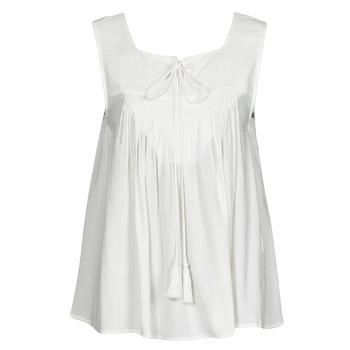 衣服 女士 无领短袖套衫/无袖T恤 See U Soon 21111205B 白色
