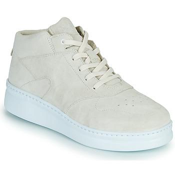 鞋子 女士 球鞋基本款 Camper 看步 RUNNER UP 米色