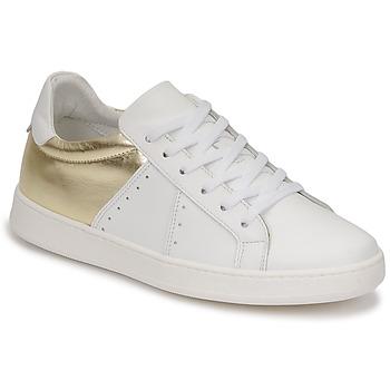 鞋子 女士 球鞋基本款 Myma PIGGE 白色 / 金色