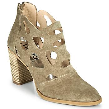 鞋子 女士 短靴 Myma PAGGE 灰褐色