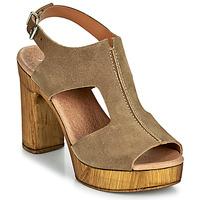 鞋子 女士 凉鞋 Myma POULISSA 灰褐色