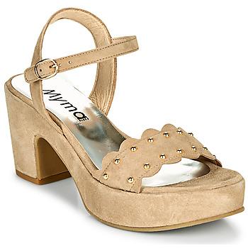 鞋子 女士 凉鞋 Myma POULIDOU 灰褐色