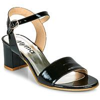 鞋子 女士 凉鞋 Myma POLIDAME 黑色