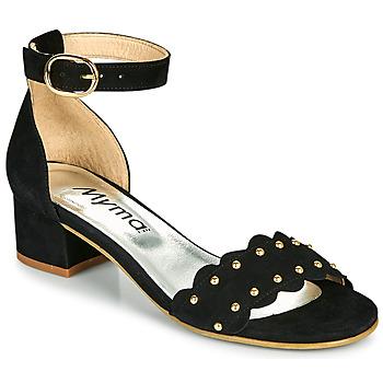 鞋子 女士 凉鞋 Myma POLIVAR 黑色