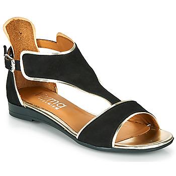 鞋子 女士 凉鞋 Myma POLIBO 黑色