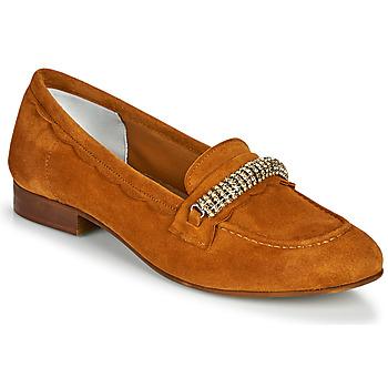 鞋子 女士 皮便鞋 Myma PIBINA 驼色