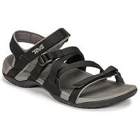 鞋子 女士 凉鞋 Teva ASCONA SPORT WEB 黑色