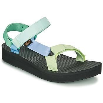 鞋子 女士 凉鞋 Teva MIDFORM UNIVERSAL 绿色