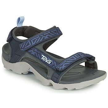 鞋子 男孩 凉鞋 Teva TANZA 蓝色