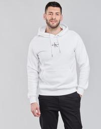 衣服 男士 卫衣 Calvin Klein Jeans NEW ICONIC ESSENTIAL HOODIE 白色