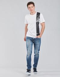 衣服 男士 直筒牛仔裤 Calvin Klein Jeans SLIM TAPER 蓝色 / Edium