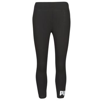 衣服 女士 紧身裤 Puma 彪马 ESS 3/4 LOGO LEGGING 黑色