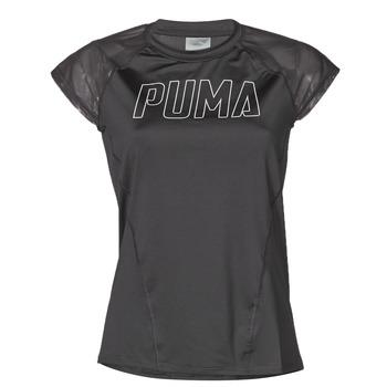 衣服 女士 短袖体恤 Puma 彪马 WMN TRAINING TEE F 黑色