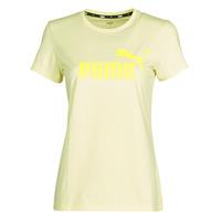 衣服 女士 短袖体恤 Puma 彪马 ESS Logo Tee (s) 黄色