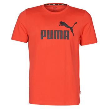 衣服 男士 短袖体恤 Puma 彪马 ESSENTIAL TEE 红色