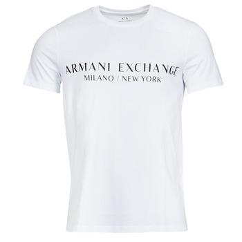 衣服 男士 短袖体恤 EMPORIO ARMANI EAX 8NZT72-Z8H4Z 白色