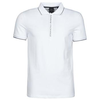 衣服 男士 短袖保罗衫 EMPORIO ARMANI EAX 8NZF71-ZJH2Z 白色