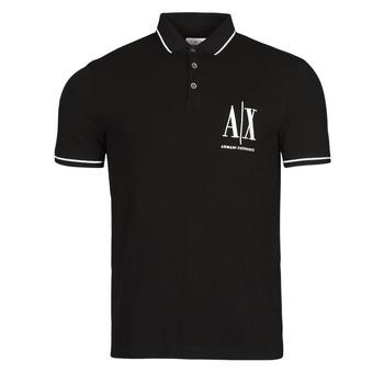 衣服 男士 短袖保罗衫 EMPORIO ARMANI EAX 8NZFPA-Z8M5Z 黑色