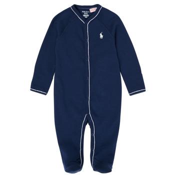 衣服 男孩 睡衣/睡裙 Polo Ralph Lauren LOLLA 海蓝色