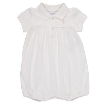 衣服 女孩 连体衣/连体裤 Polo Ralph Lauren SIMONE 白色