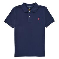 衣服 男孩 短袖保罗衫 Polo Ralph Lauren TUSSA 海蓝色