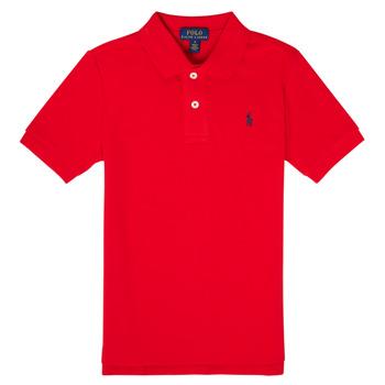 衣服 男孩 短袖保罗衫 Polo Ralph Lauren MENCHI 红色