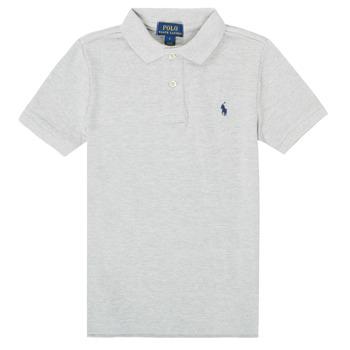 衣服 男孩 短袖保罗衫 Polo Ralph Lauren FRANCHI 灰色