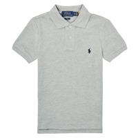 衣服 男孩 短袖保罗衫 Polo Ralph Lauren FRANCHI 蓝色