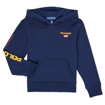 衣服 男孩 卫衣 Polo Ralph Lauren AMELIA 海蓝色