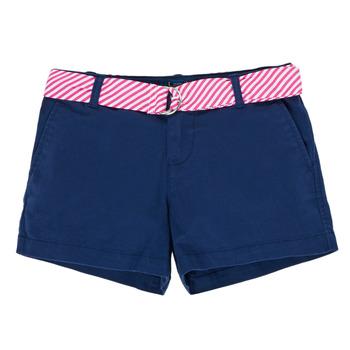 衣服 女孩 短裤&百慕大短裤 Polo Ralph Lauren FILLI 海蓝色