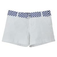 衣服 女孩 短裤&百慕大短裤 Polo Ralph Lauren FILLI 白色