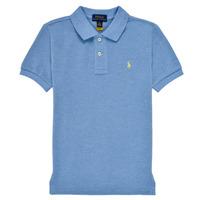 衣服 男孩 短袖保罗衫 Polo Ralph Lauren BLEUNI 蓝色