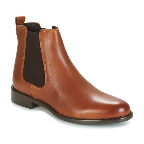 鞋子 女士 短筒靴 Betty London NORA 驼色