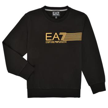 衣服 男孩 卫衣 EA7 EMPORIO ARMANI 3KBM55-BJ05Z-1200 黑色