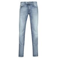 衣服 男士 紧身牛仔裤 Diesel 迪赛尔 D-STRUKT 蓝色 / 米色