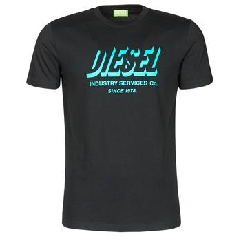 衣服 男士 短袖体恤 Diesel 迪赛尔 A01849-0GRAM-9XX 黑色